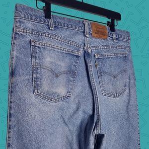 Vintage orange tab Levi's jeans
